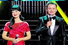 Александр Олешко и Нонна Гришаева
