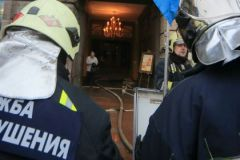 Огонь возник в бытовках у дома номер 1 по улице Суздальская