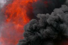 Пострадавшими на пожаре оказались четверо приезжих и один житель столицы
