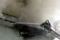 10 декабря на территории завода в СЗАО произошёл пожар