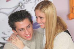 Павел Прилучный с супругой Агатой