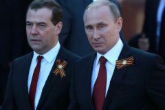Праздновать 9 мая Медведев и Путин будут без Обамы и Меркель