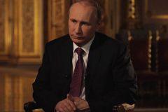 Владимир Путин дает интервью Владимиру Соловьеву