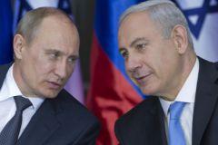 Президент РФ Владимир Путин и премьер Израиля Биньямин Нетаньяху