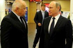 Дмитрий Киселёв и Владимир Путин
