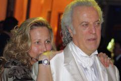 Илья Резник с женой Ириной Романовой
