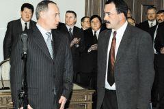 Владимир Путин и Михаил Кожухов