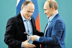 Эцио Гамба и Владимир Путин