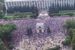 Протесты в Молдавии продолжаются с начала сентября