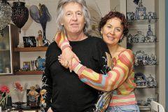 Вячеслав Малежик с женой Татьяной