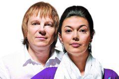 Виктор Салтыков с женой Ириной