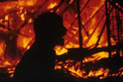 Пожар на территории складского комплекса удалось локализовать