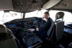 В кабине Boeing