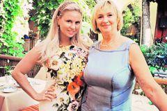 Анна Семенович с мамой