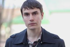 Писатель Сергей Шаргунов