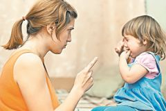 Никогда не наказывайте ребенка на публике