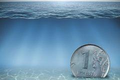 Рубль лихорадило весь 2015-й год