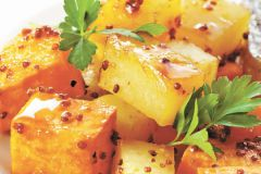 Глазированный картофель