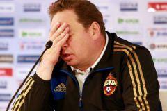 Посмотреть бы на ладони Леонида Слуцкого после игры со «Спартой»...