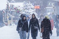 В декабре ожидаются осадки в виде снега, мокрого снега и дождя