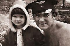 Александр Белявский с сыном Борисом