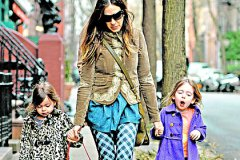 Сара Джессика Паркер с детьми