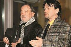 Остап снялся в 11 фильмах с легендарным папой, они вместе выступали на сцене киевского театра им. Франко