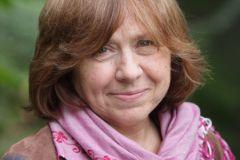 Белорусская писательница, журналист Светлана Алексиевич