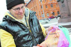"""Перед акцией """"православные"""" устроили свинскую фотосессию у памятника Жукову"""