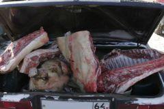 Мясо перевозить через границу можно только в заводской упаковке