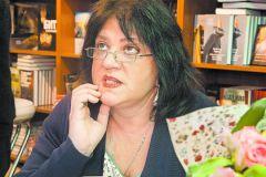 Татьяна Толстая на книжной ярмарке