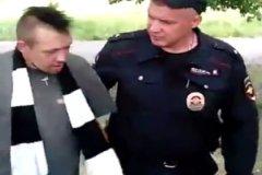 Майор полиции Тарашкевич на игре Торпедо