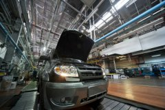 Сокращение продаж в период кризиса УАЗ коснулось в наименьшей степени