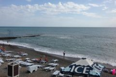 Пляж в Сочи