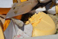 Уничтожение санкционной еды
