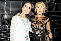 Любовь Успенская с дочерью Таней