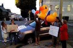 Акция в Сан-Франциско