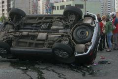 В ЮАО Москвы столкнулись пять легковых машин