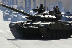 Во время репетиции Парада Победы произошло два ЧП с танками