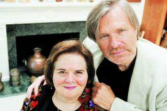 Олег Видов с женой Джоан