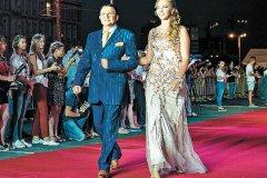 Дмитрий Дибров с супругой Полиной