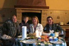 Волочкова с семьей