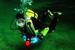 Россиянин потерял сознание под водой