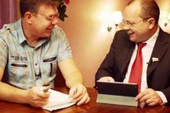 Андрей Бочаров и Евгений Шестаков