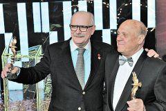 Никита Михалков и Владимир Меньшов