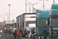 Забастовка дальнобойщиков в Подмосковье