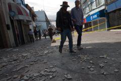 После землетрясения