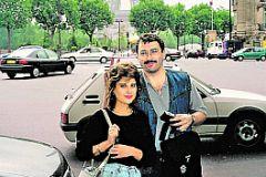 Михаил Ходорковский с женой Инной