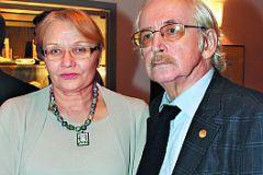 Василий Ливанов с женой Еленой Артемьевной