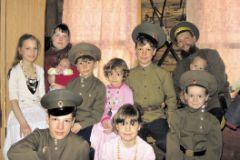 Татьяна Бутусина и дети